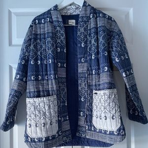 Roxy printed quilted jacket
